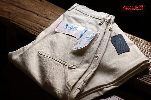 "THE UNION/THE OVERALLS ""WHITE PAINTER PANTS"""