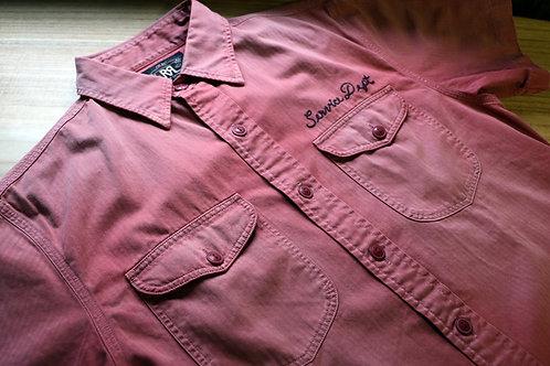 "Ralph Lauren/RRL ""Cotton Herringbone Workshirt"""