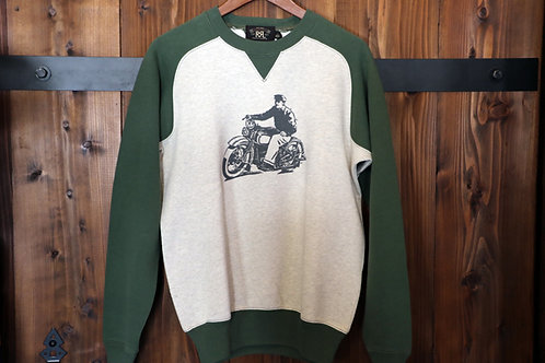 """FREEDAM SLEEVE SWEAT""  Ralph Lauren RRL"