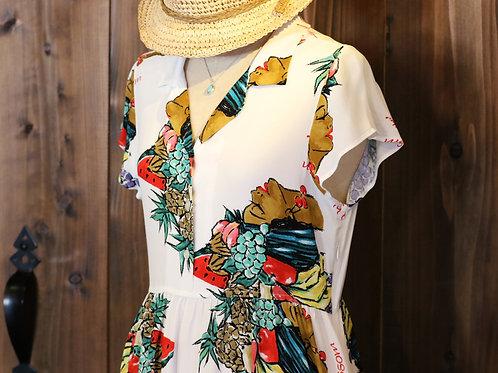 "Aloha Blossom ""HARVEST"" レディースワンピース"