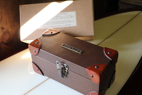 """Leather Watch Box""  Ralph Lauren / DOUBLE RL"