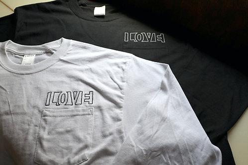 """LOVE"" LONG TEE  Looker"