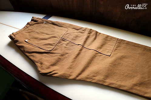 """THE UNION / THE OVERALLS """"BROWN PAINTER PANTS"""""""