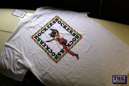 """ROCKERS TEE""  /THE UNION / THE FABRIC"