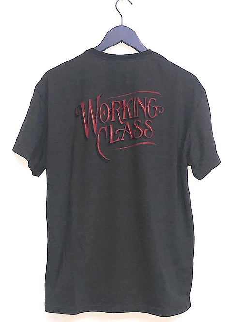 """WORKING CLASS"" T-SHIRTS  THE UNION/THE FABRIC"