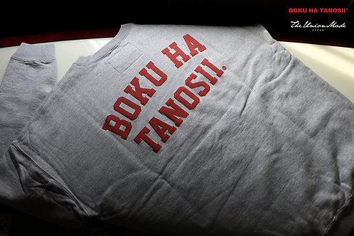 """BOKUHA TANOSII"" CREW SWEAT  THE UNION / THE FABRIC"