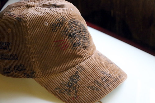 """Corduroy Baseball Cap""  Ralph Lauren / POLO"