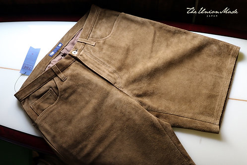"""MOUNTAIN LEATHER SHORT""   THE UNION / THE FABRIC"