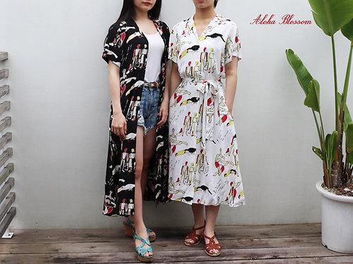 """BOSSANOVA DRESS"" Aloha Blossom / アロハブロッサム"