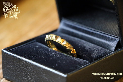 """THE UNION/THE COLOR """"STUDS RING"""" BRASS"""