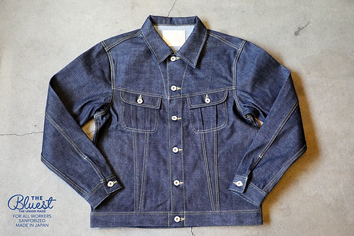 """WEST DENIM JACKET""  THE UNION / THE BLUEST OVERALLS"