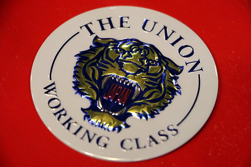 "THE UNION ""WORKING CLASS METAL STICKER"""