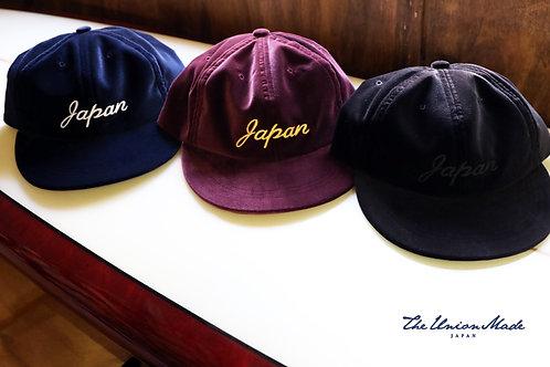 """""""VELVET JAPAN CAP""""  THE UNION / THE COLOR"""