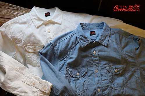 "THE OVERALLS ""LINEN BELL SHIRTS"""