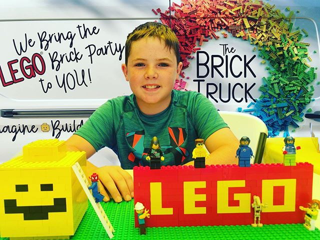 We bring the LEGO brick party to YOU!  D