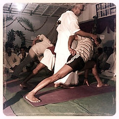 <L'enseignement de Swamiji à Rishikesh>