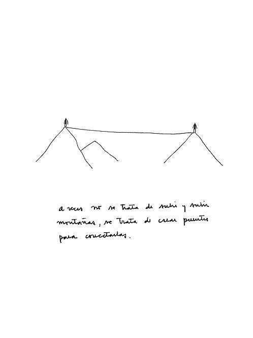 Conectar montañas