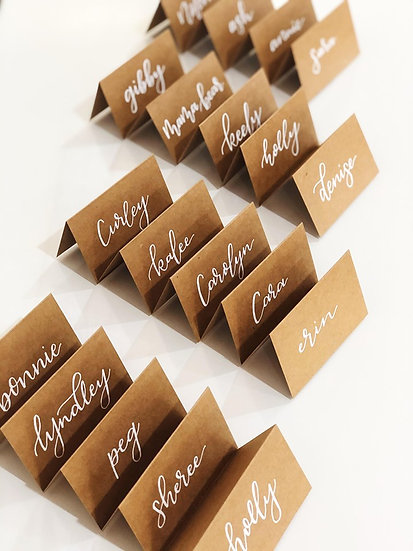 Cardstock Place Cards