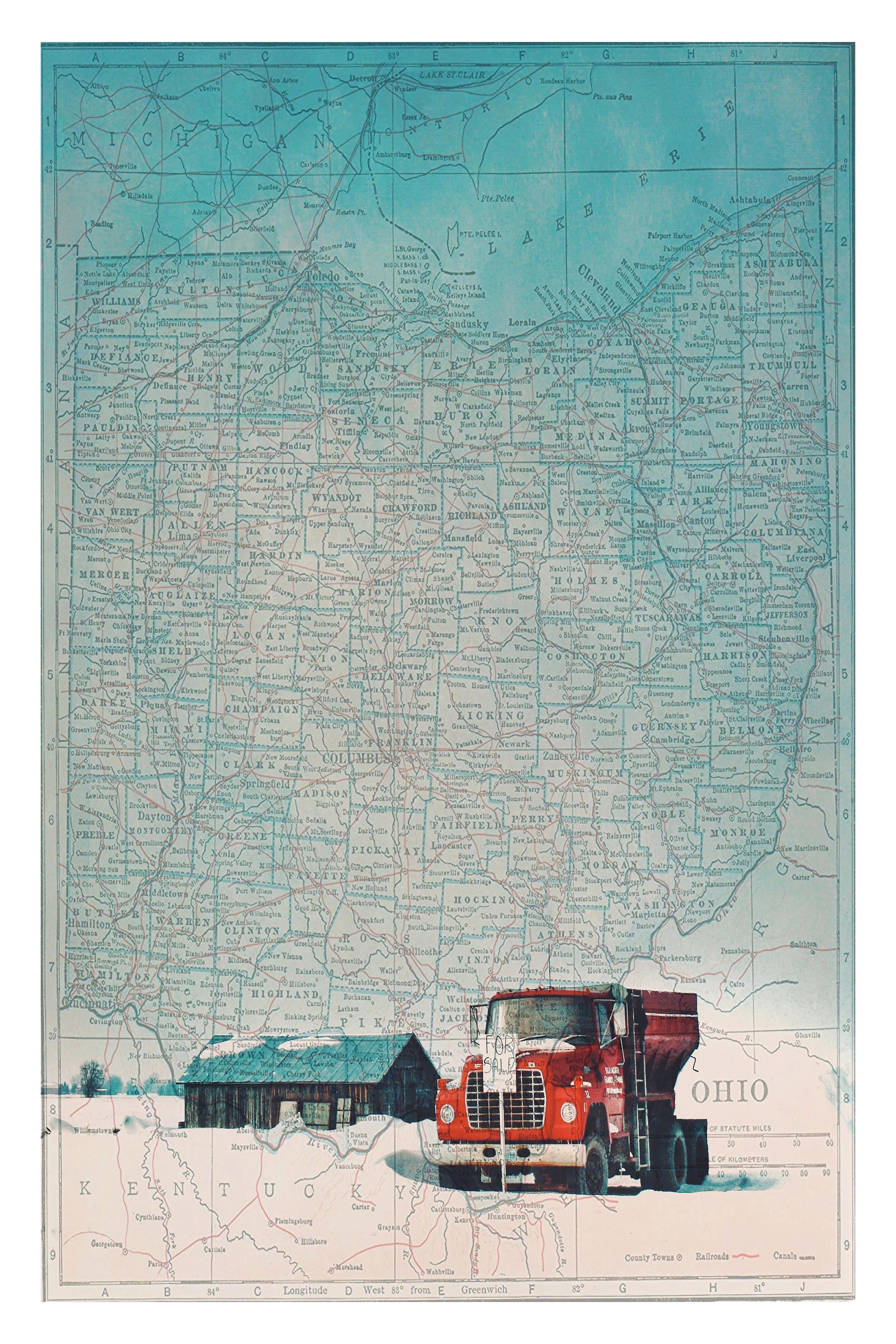 ohio map series