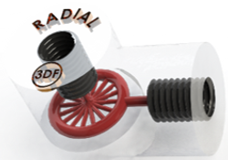 Radial Flow-cell