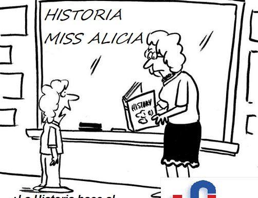 EL EXTRAÑO CASO DE ALICIA MI MAESTRA DE HISTORIA EN EL COLEGIO FRANCÉS HIDALGO