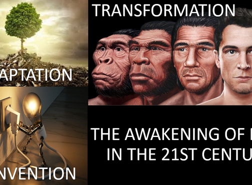 THE AWAKENING OF MAN IN THE 21ST CENTURY