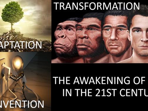 THE AWAKENING OF MAN IN THE 21ST CENTURY