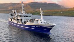 VARDIN  |  Norwegian mackerel landings at Vardin Pelagic