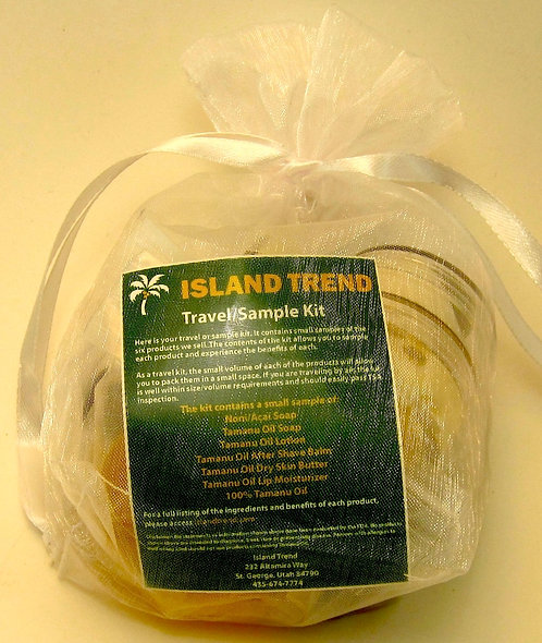 Island Trend Travel/Sample Pack!