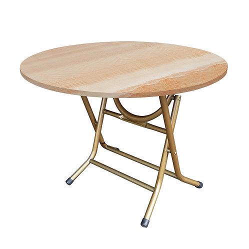 T207-1  圓木紋桌