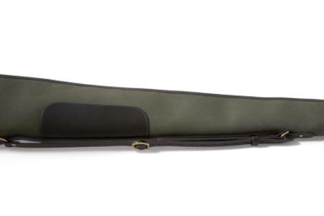 Croots Rosedale Canvas & Leather Gun Slip (Green)