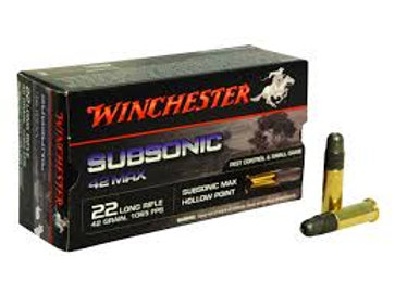 Winchester Subsonic 42gr .22LR