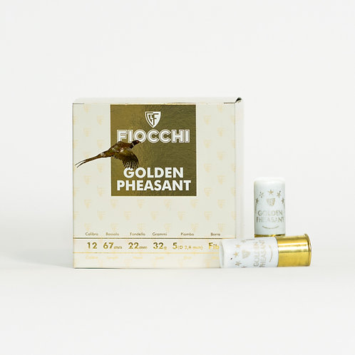 Fiocchi Golden Pheasant 12 Gauge 32 Gram Fibre Wad