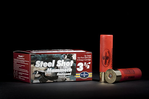 "Gamebore Mammoth Steel 3 1/2"""