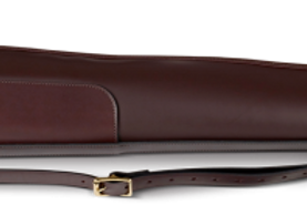Croots Byland Deluxe Leather Gun Slip (Oxblood)