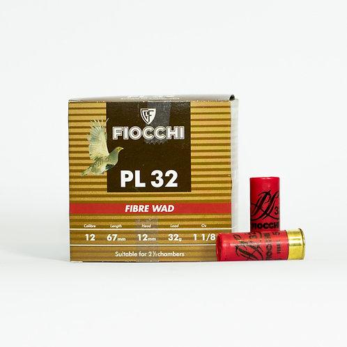 Fiocchi 12 Gauge  32 Gram Fibre Wad Shot Size 6