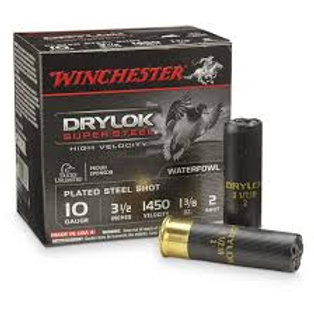 "10 Gauge Winchester Drylock 3 1/2"" Steel (Shop Only)"