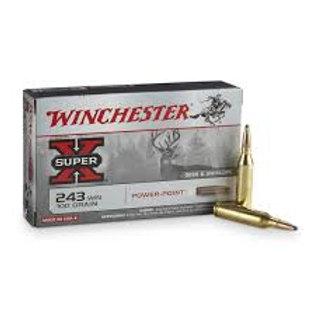 Winchester .243 Super X 100gr Soft Point