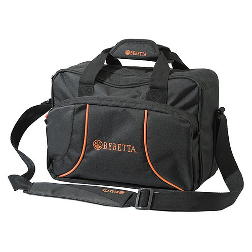 Beretta Uniform Pro Cartridge Bag in Black/Orange