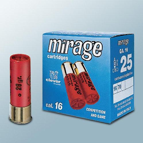 """STEEL 16 GAUGE CLEVER MIRAGE 2 3/4"""" 24 GRAM No5 PACK OF 25"""