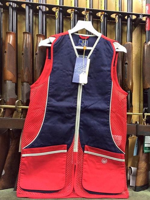 Beretta Silver Pigeon Skeet Vest in Red/Navy