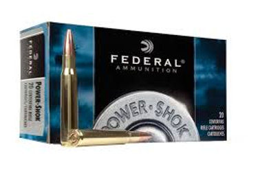Federal .222 Power Shok 50gr Soft Point