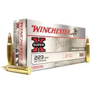Winchester .223 Super-X 55gr Soft Point