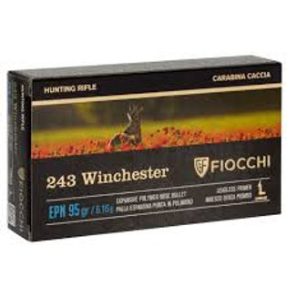 Fiocchi .243 EPN 95gr Polymer Tip