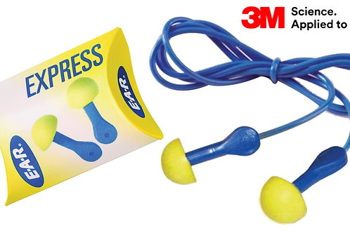 3M™ E-A-R™ Express Corded Ear Plugs (EAEX)