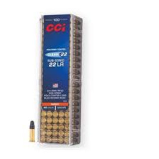 CCI Clean Subsonic (Polymer) .22LR