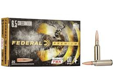 Federal Premium 6.5 Creedmore 130gr Hollow Point