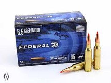Federal 6.5 Creedmore 95gr Polymer Tip