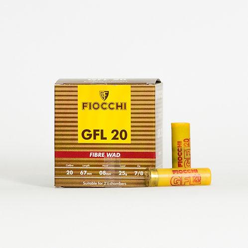 Fiocchi GFL 20 Gauge 28 Gram Fibre Wad Per 1000