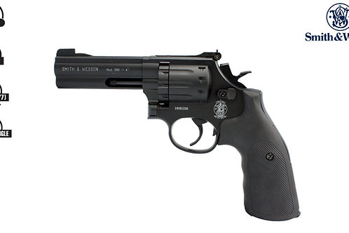Smith & Wesson 586 Black 4inch